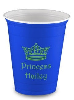 personalized custom printed solo cups limelight paper partyware