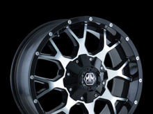 Roue en aluminium neuve mayhem warrior black machined face / Dimensions : 20x9 / Boulons : 6x135mm