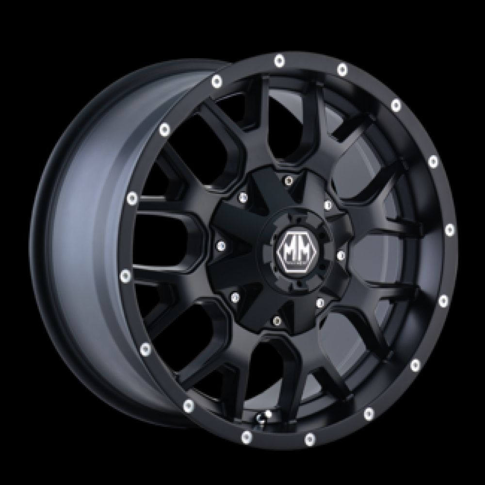 Roue en aluminium neuve mayhem warrior matte black / Dimensions : 20x9 / Boulons : 6x139.7mm