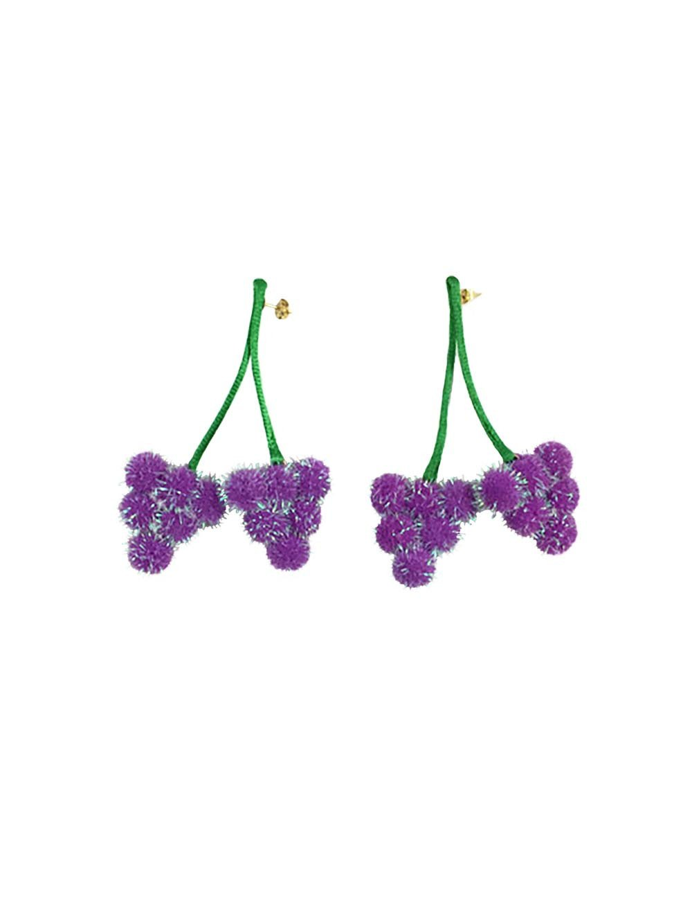 Feeling Grape Earrings