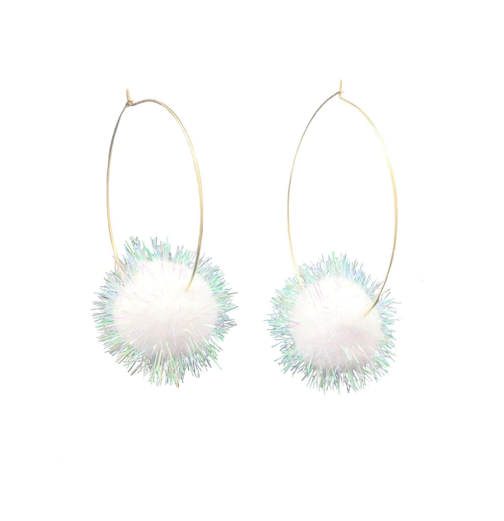 Puff Ball Hoops