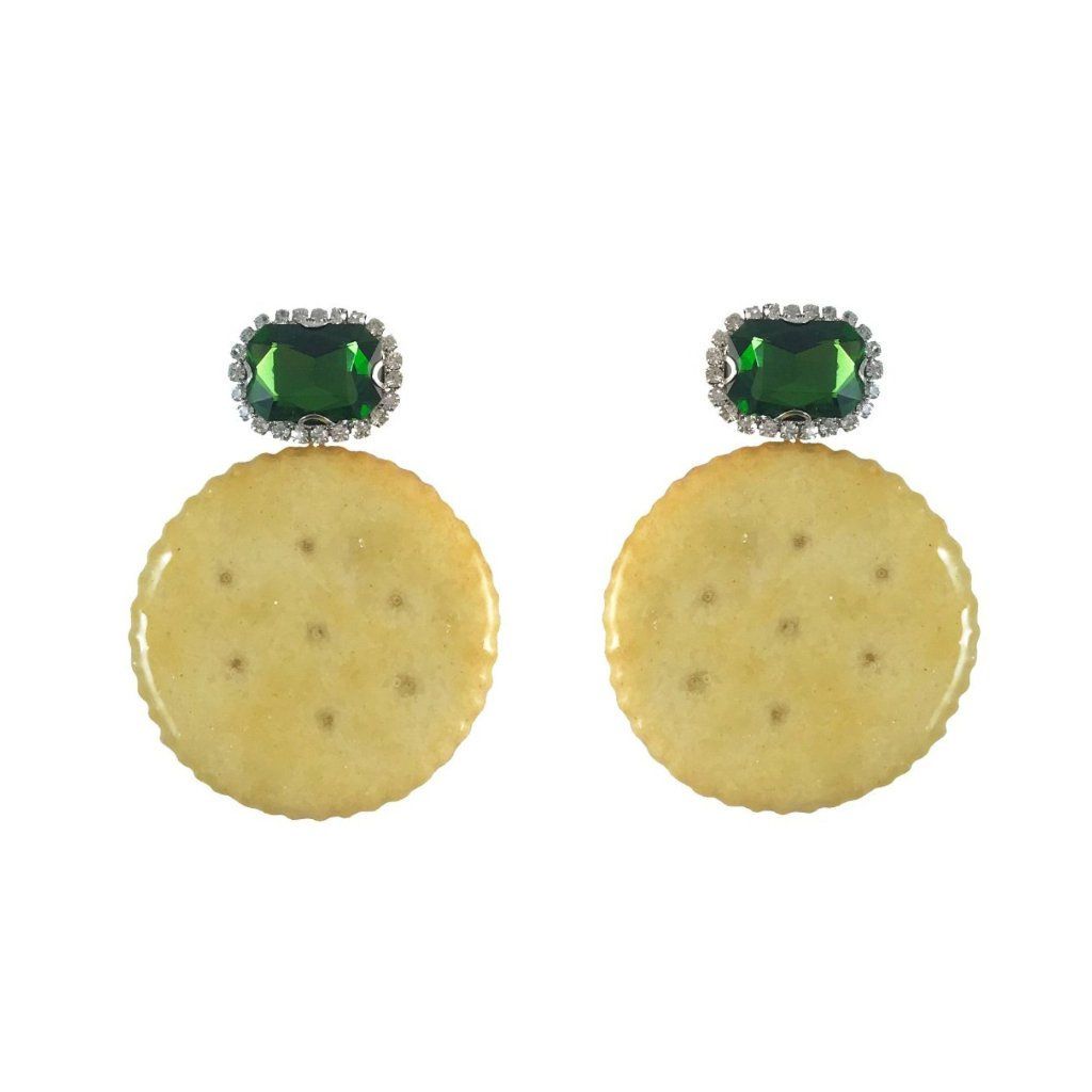 Ritzy Cracker Earrings