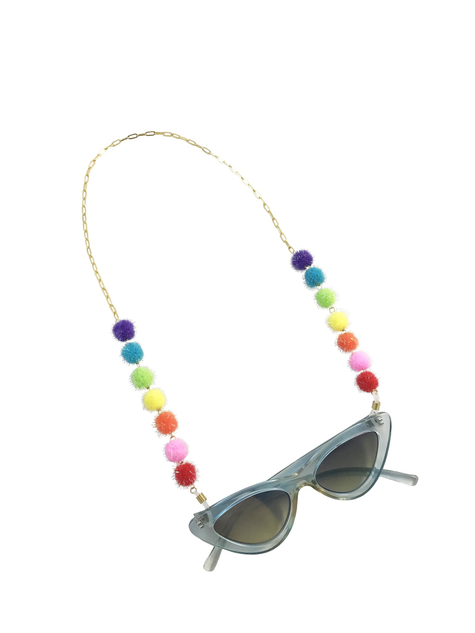 Rainbow Puff Chain