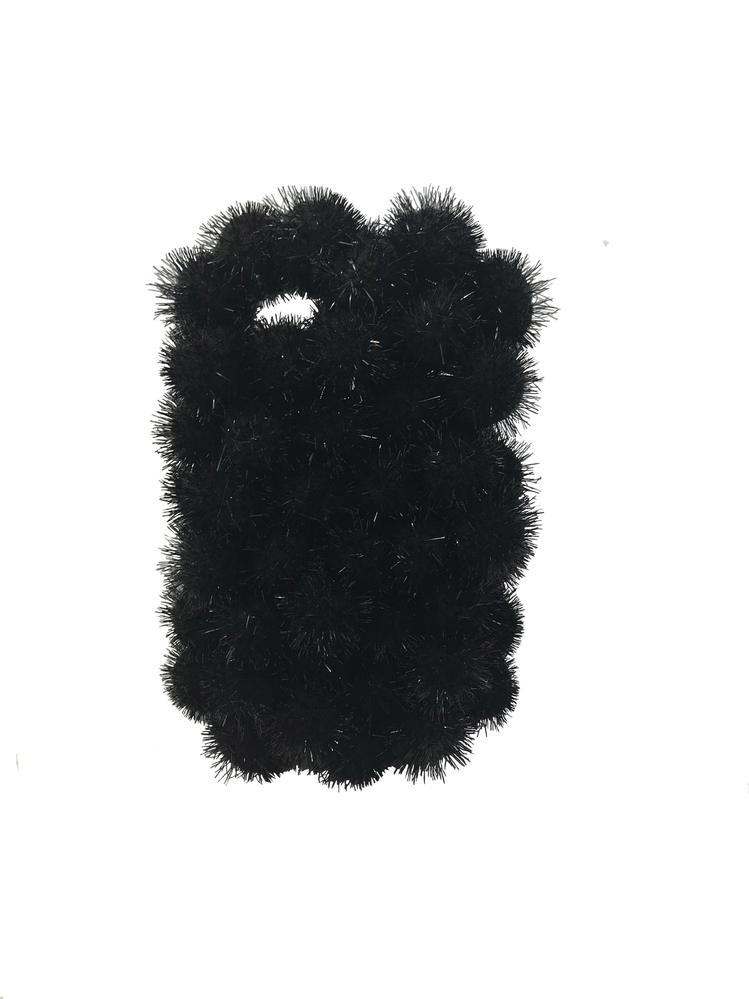 Black Puff Phone Case