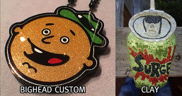 clay chain vs big head custom chain