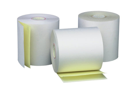 NCR 2-Ply Paper Roll, 100 rolls/ case - OrderPaper.sg