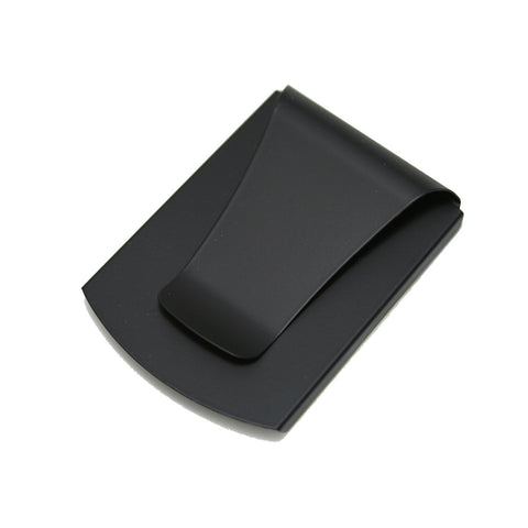 Smart Money Clip® - Black Soft Touch with Rubberized Finish - Storus