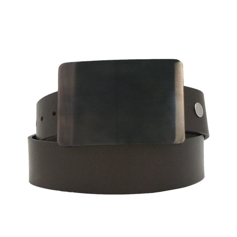 Storus Smart Belt Buckle™ - gunmetal finish on belt