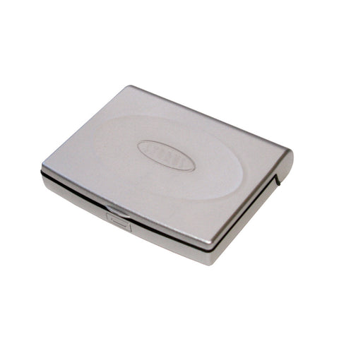 Storus Smart Jewelry Case® Mini - silver - top view closed