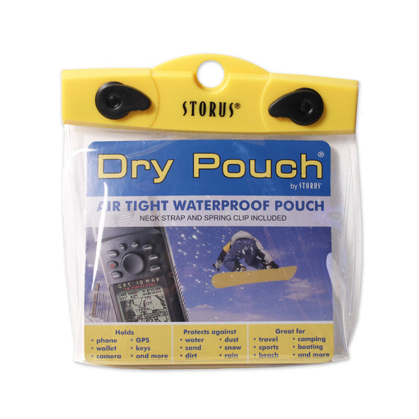 Storus Dry Pouch® - 6x5x2 Camera - clear