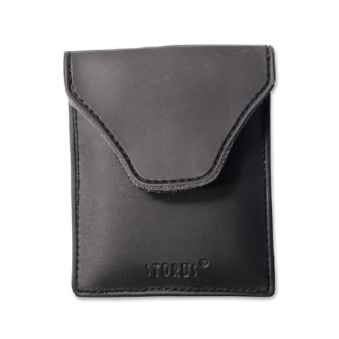 Storus Smart Fitness Wallet™  Smart Pocket front view - invented by #ScottKaminski #Storus #Man #MensAccessories #Wallets #MoneyClips #storagesolutions #organization #travel