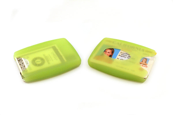 Jelly Wallet showing front and back sides