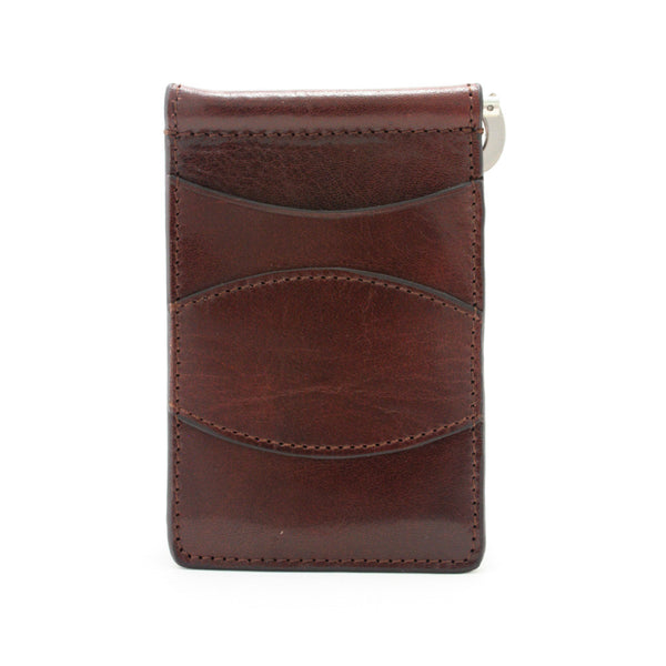 Storus Razor Wallet™ - Dark Brown front side