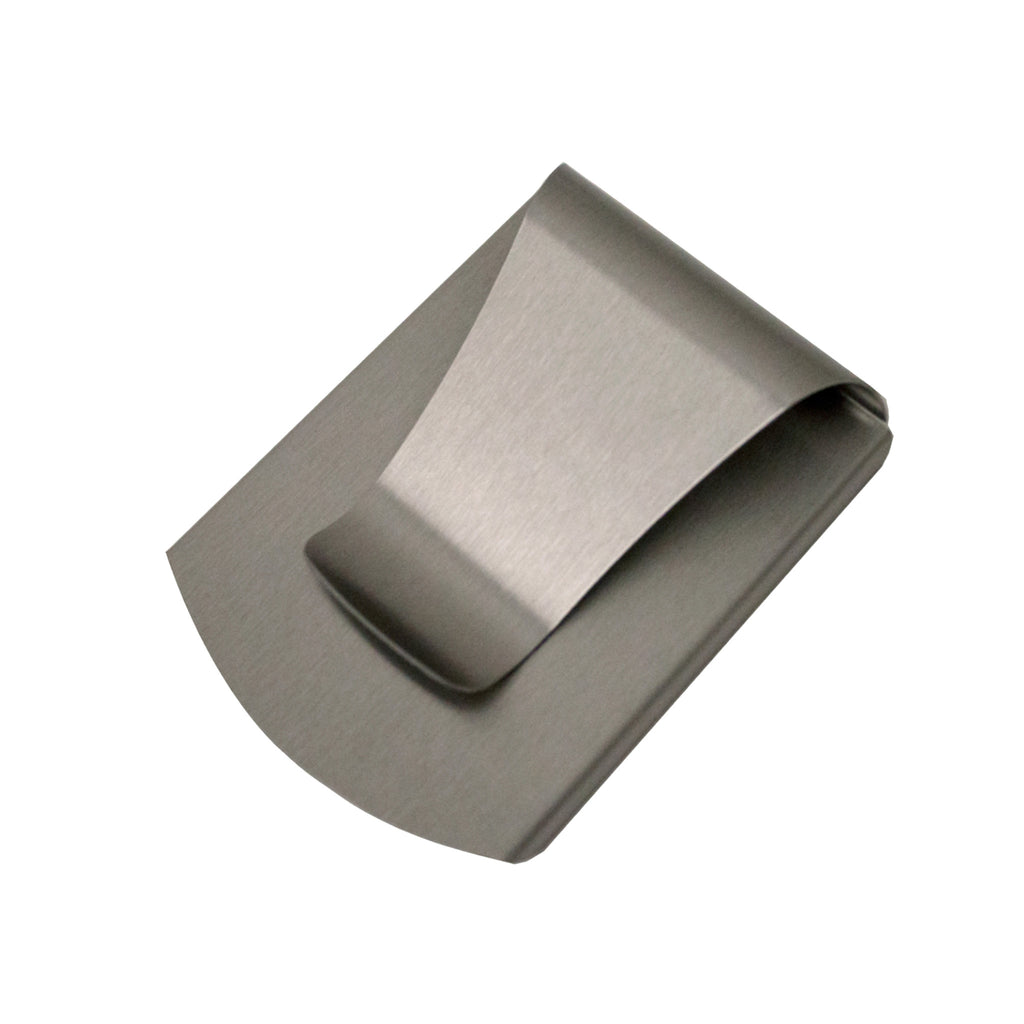 Storus®Smart Money Clip® - Brushed Stainless finish - #ScottKaminski #Storus #MoneyClip #SlimClip #bestmoneyclip #groomsmengifts #gifts #wedding #fathersday #golf #Swag #Love