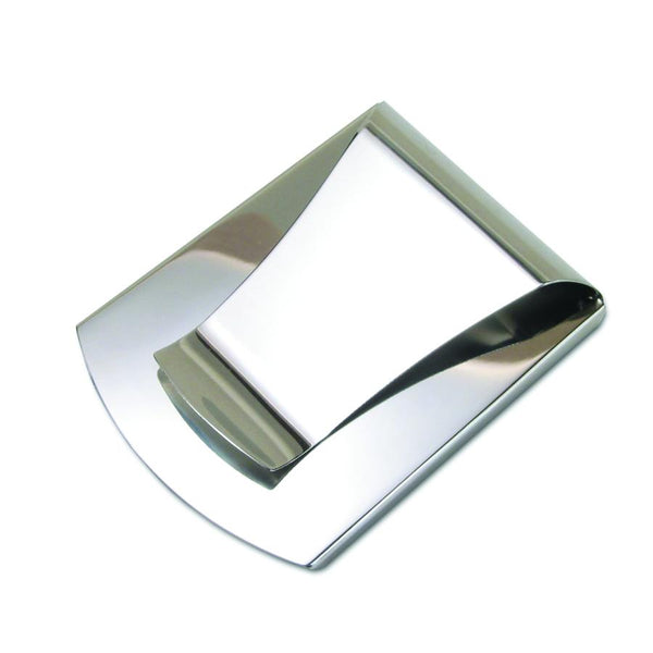 Storus® Smart Money Clip - polished Stainless - clip side shown - patented #ScottKaminski #Storus #man #moneyclip #wallet #lovethisproduct #mensaccessories