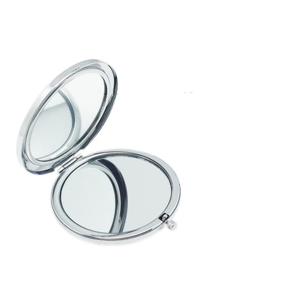 2x/1x Jeweled Compact Mirrors