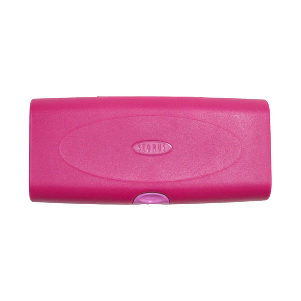 Storus Smart Jewelry Case® pink color top view