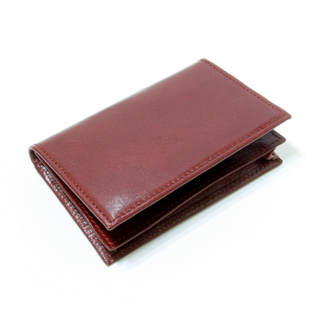 Storus® Smart Wallet™ Leather - red color - shown closed - #ScottKaminski #Storus #Man #MensAccessories #storagesolutions #organization #Wallets #MoneyClips #storagesolutions #organization #travel #lovethis #life