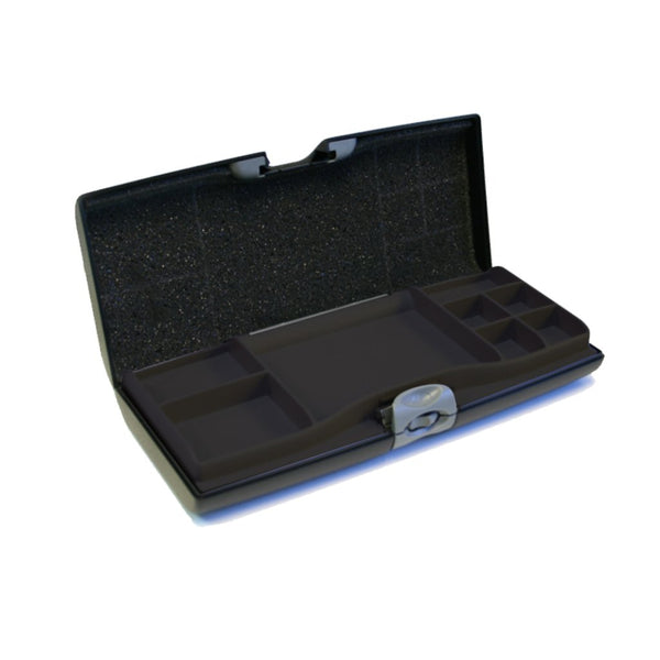 Storus Smart Jewelry Case open compartment side