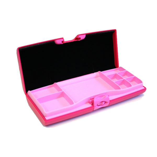 Smart Jewelry Case® - Pink - Storus - compartment side open