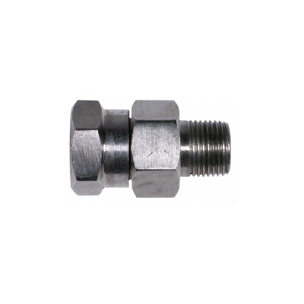 "In-Line 1/4"" NPT High Pressure Swivel Stainless 5000psi"
