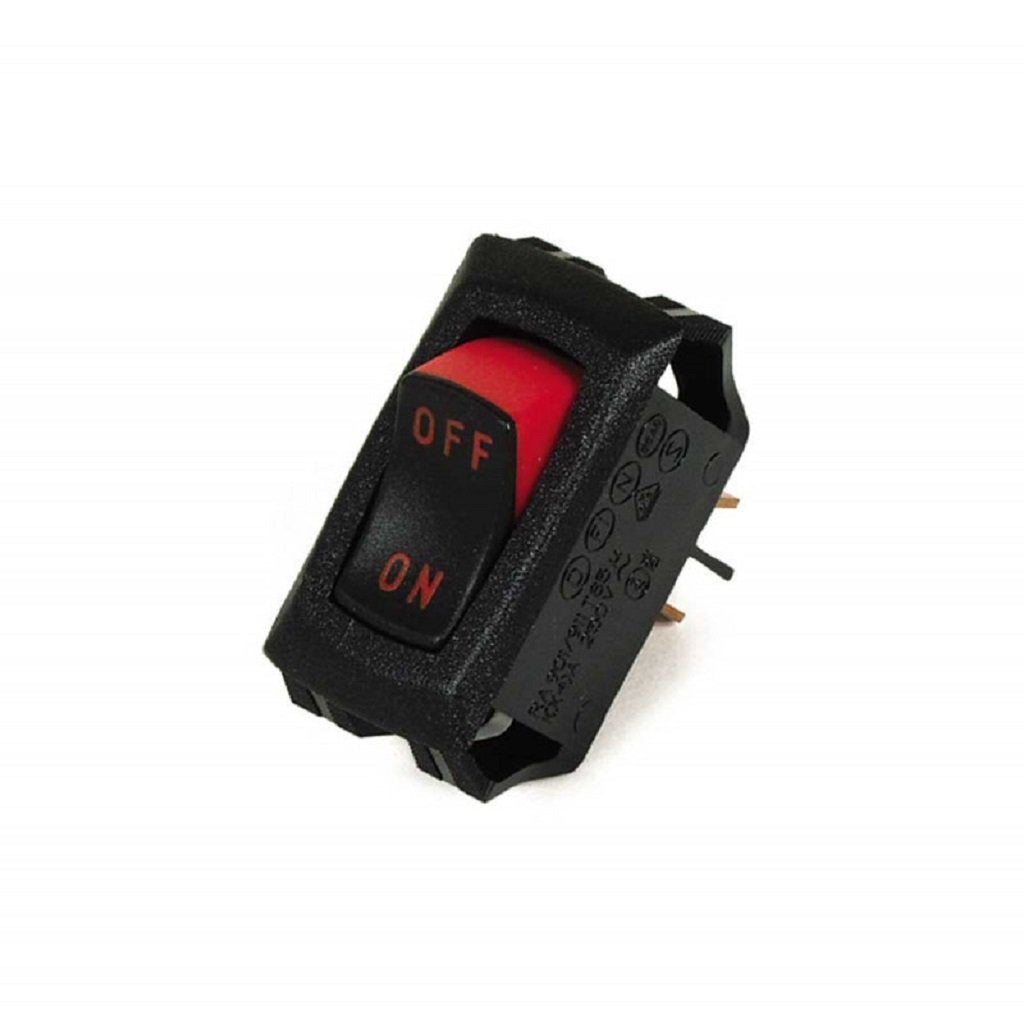 Rocker Switch Curvette 16/10 Amps 9.802-453.0