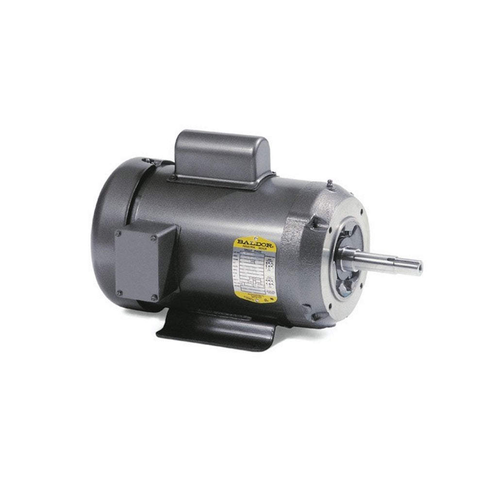 Baldor Electric Motor 3 Hp 220 Volt 3450 RPM
