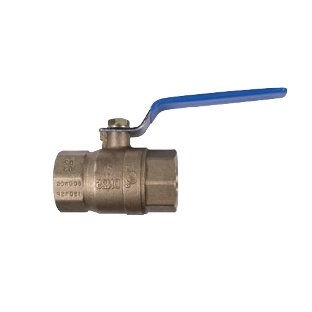 "600psi Brass Ball Valve Female NPT Ports 1/4"" up to 4"""
