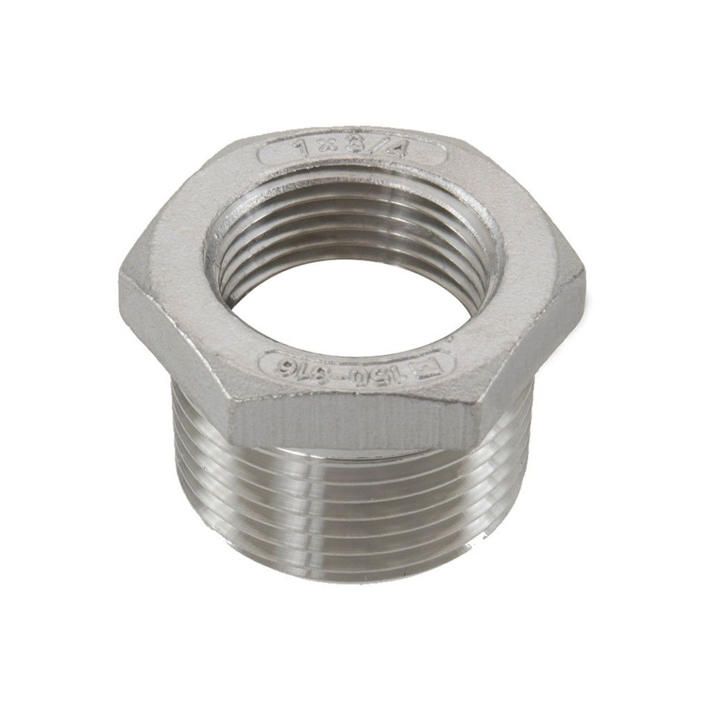 Bushing Male x Female NPT Adapter Stainless Steel
