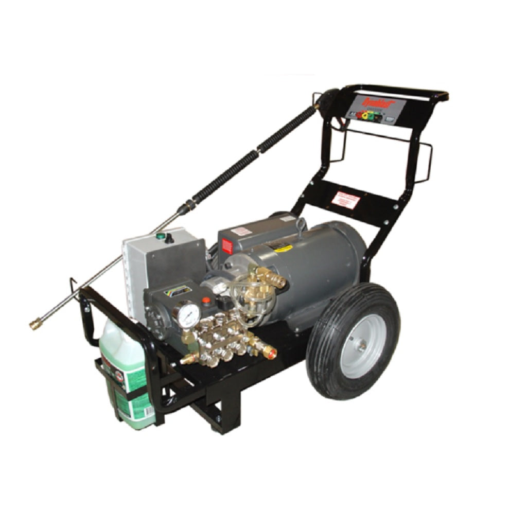 575Volt 3000psi 5.0gpm Dynablast Industrial Three Phase Electric Pressure Washer Time Delay Shutdown C5030DET3D