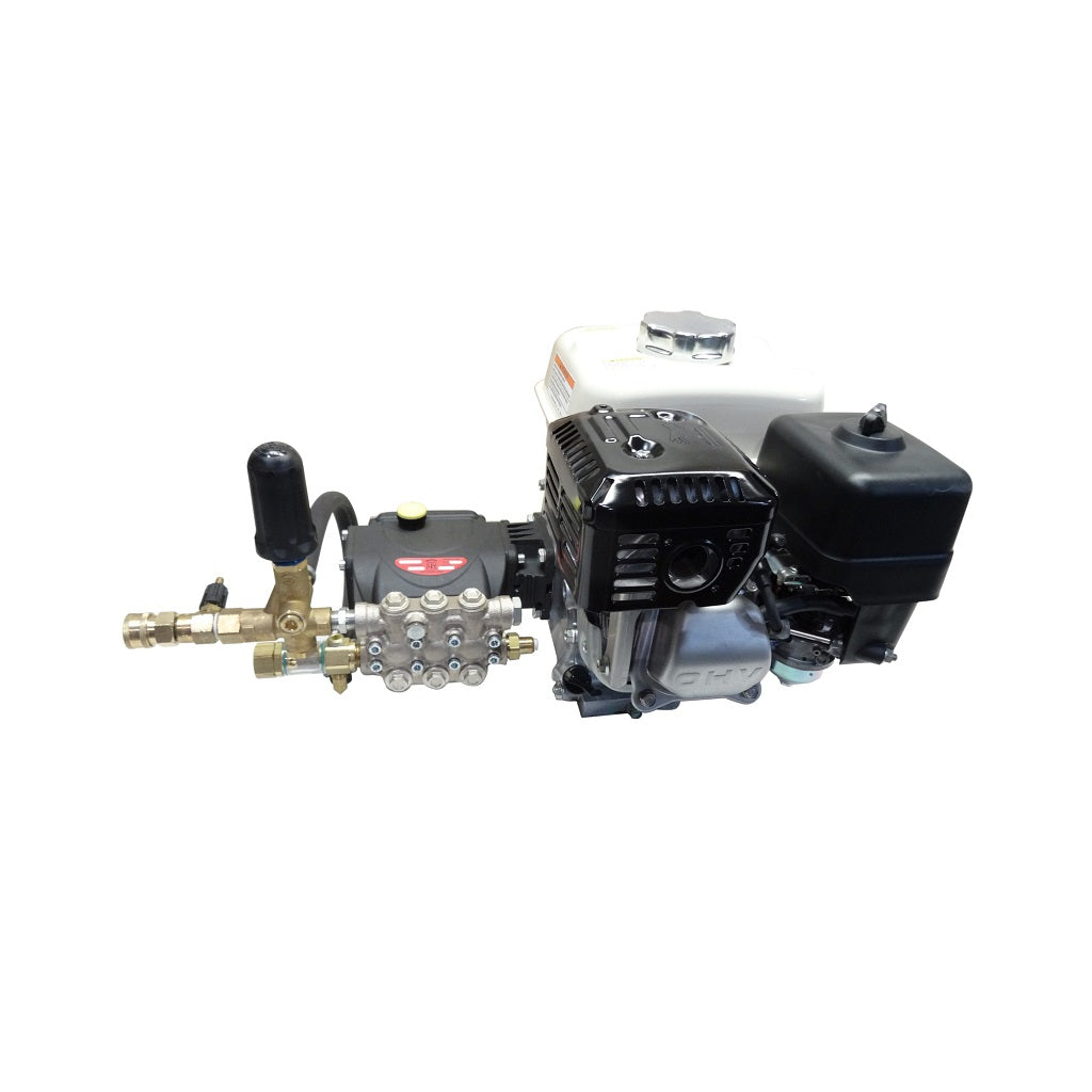 3500psi 4gpm Honda GX390 / Gear Reduced Evolution Pump Combo - Truck Mount / Compact