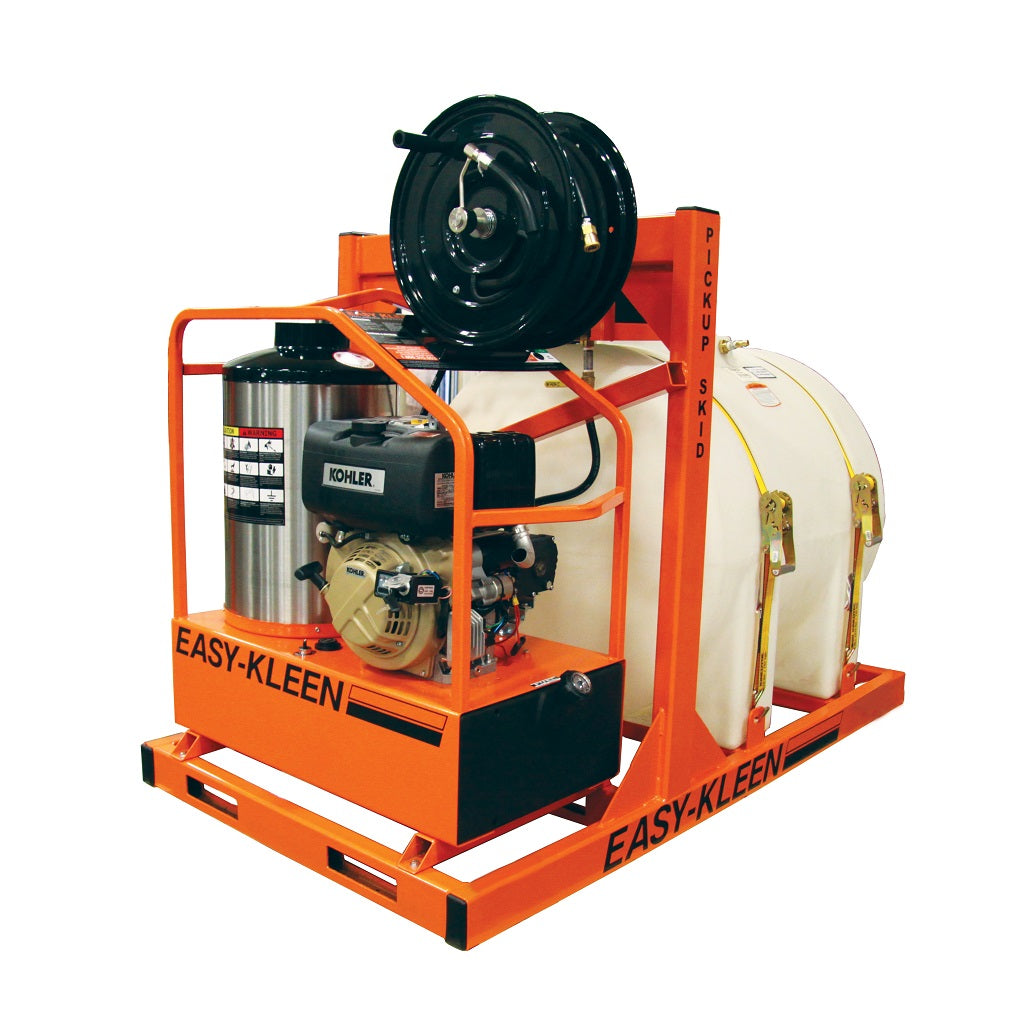 Hot Water Pressure Washer Pickup Truck System with Diesel Burner 4.0gpm 3500psi