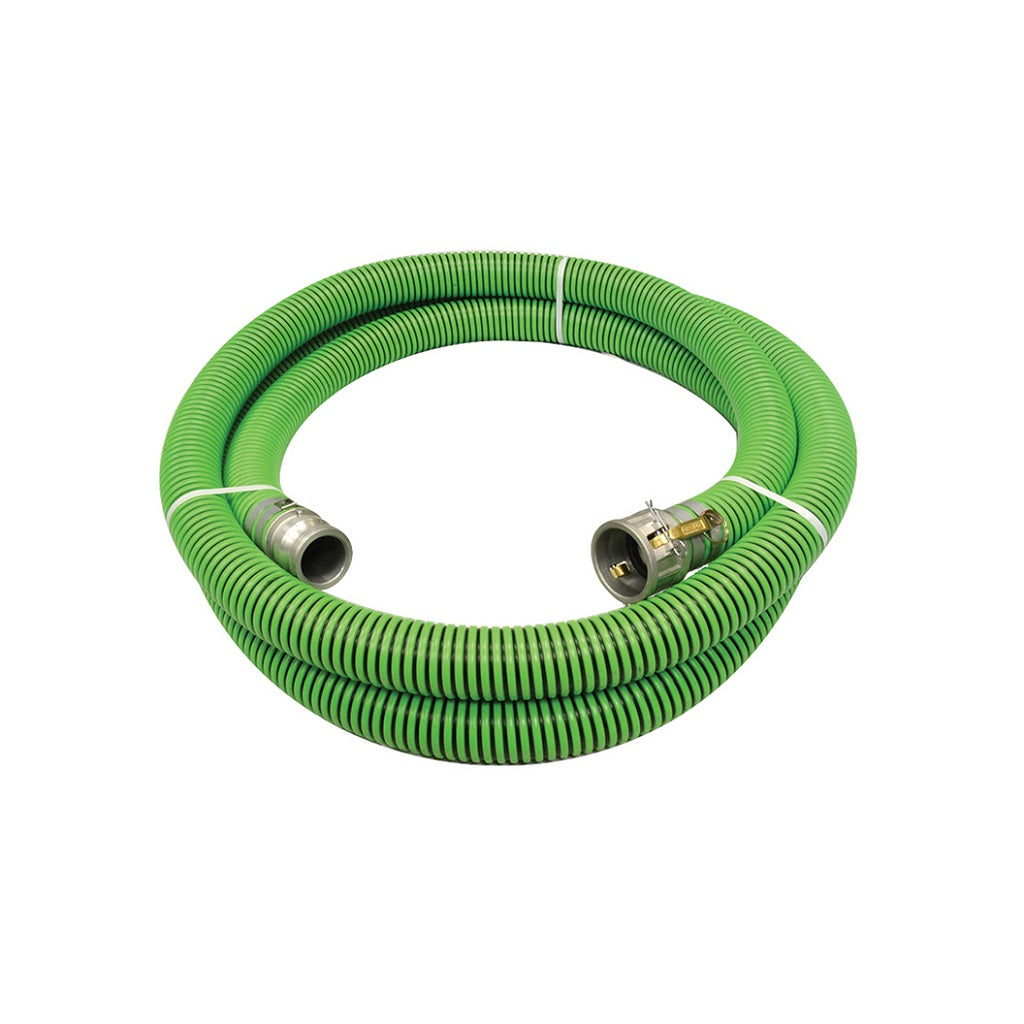 "G1341K-200CE20 G1341K-200CE20 2"" X 20 FT EPDM/POLYETHYLENE SUCTION HOSE ASSEMBLY WITH C & E CAM-LOCKS ATTACHED"