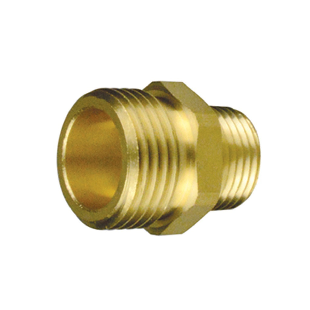 Male Garden Hose to Male NPT Pipe Thread
