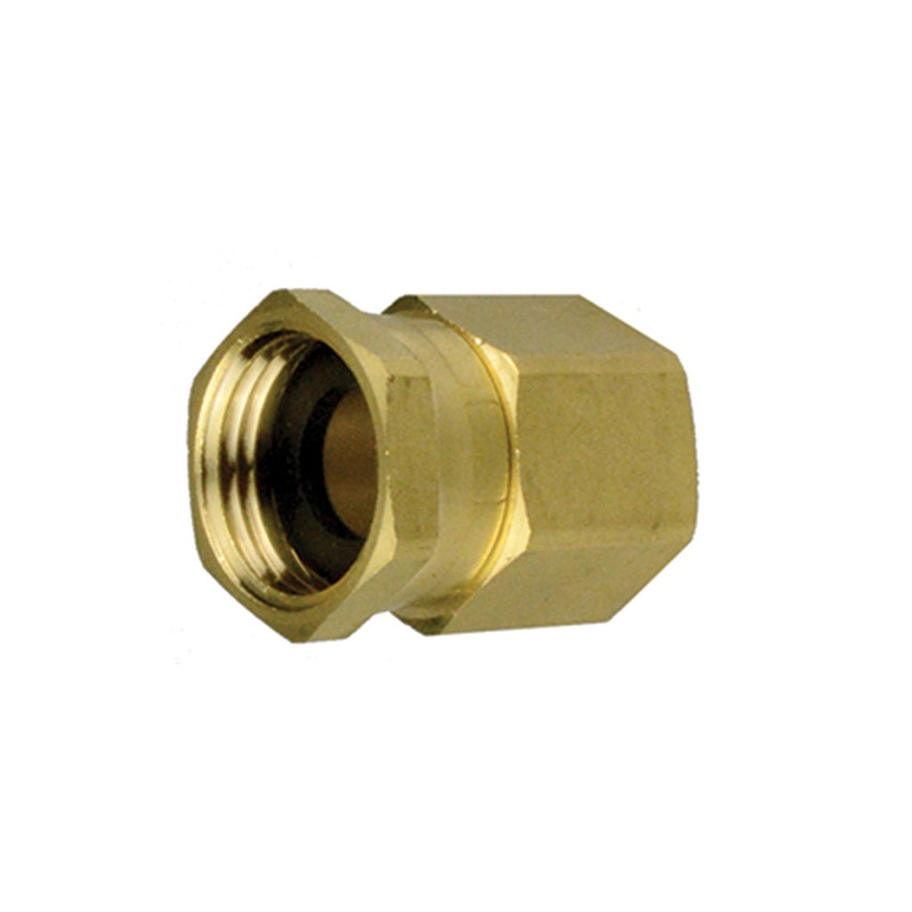 "Garden Hose Swivel Fitting 3/4"" FPT"