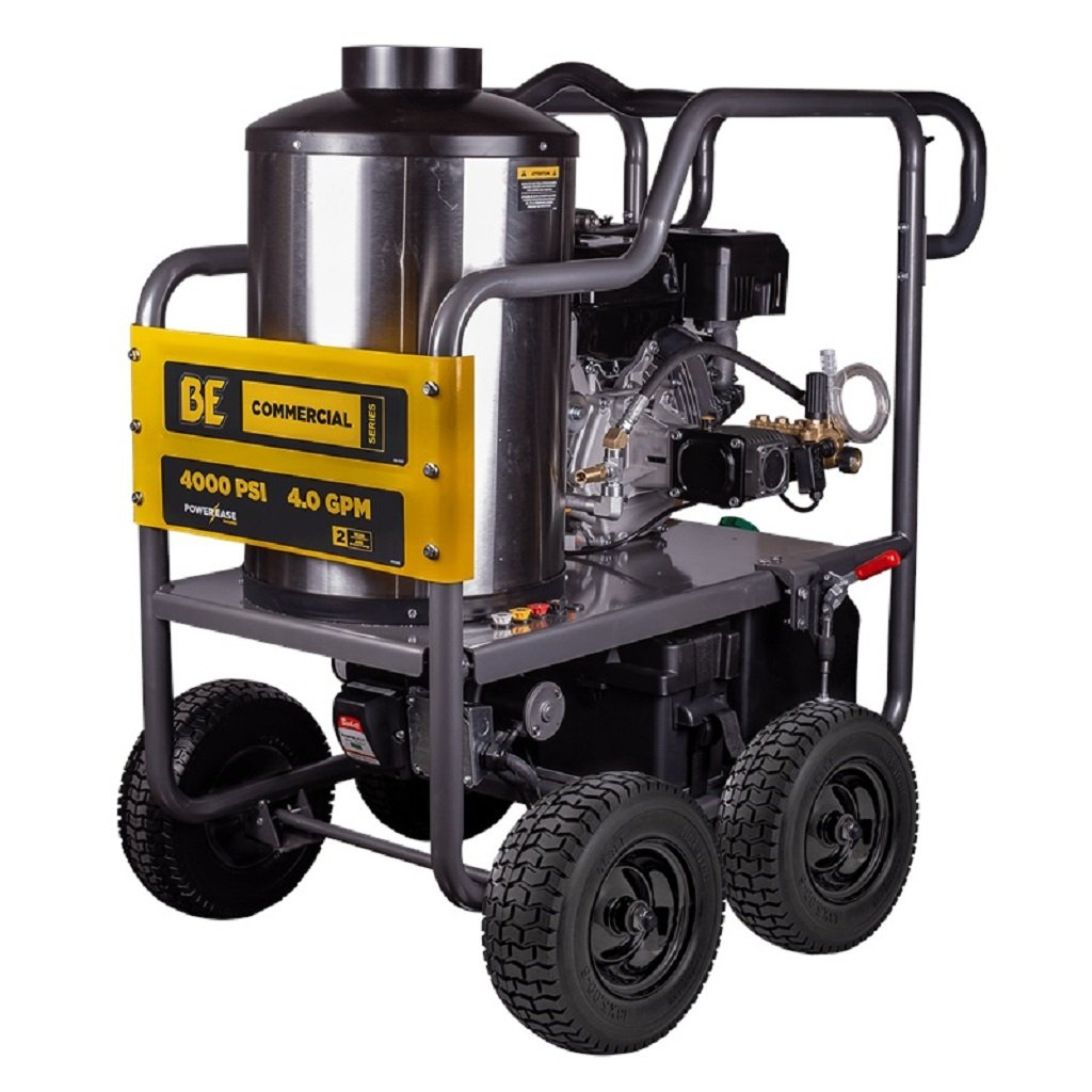 BE HW4015RA 4000psi 4.0gpm 420cc with AR Pump and Diesel Hot Water
