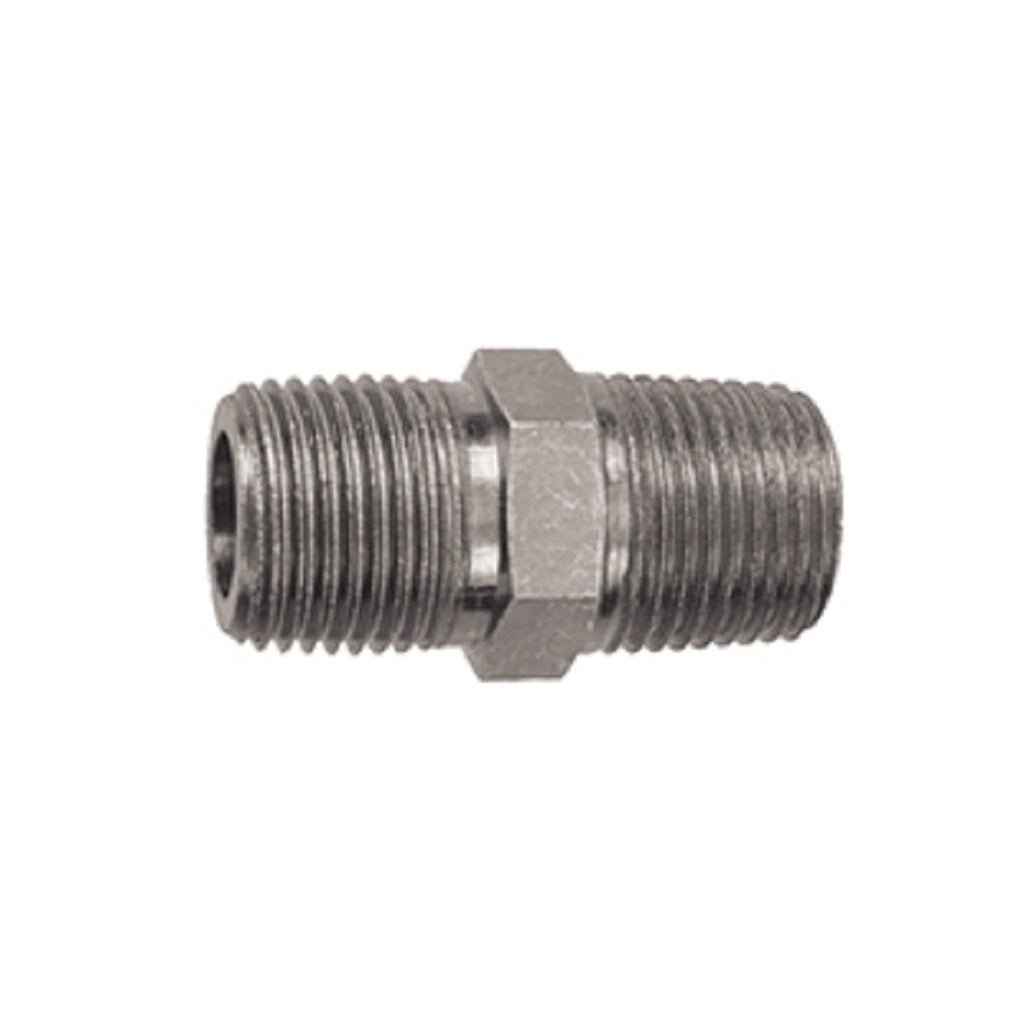"Hex Nipple - Steel 3/8"" NPT 9.802-011.0"