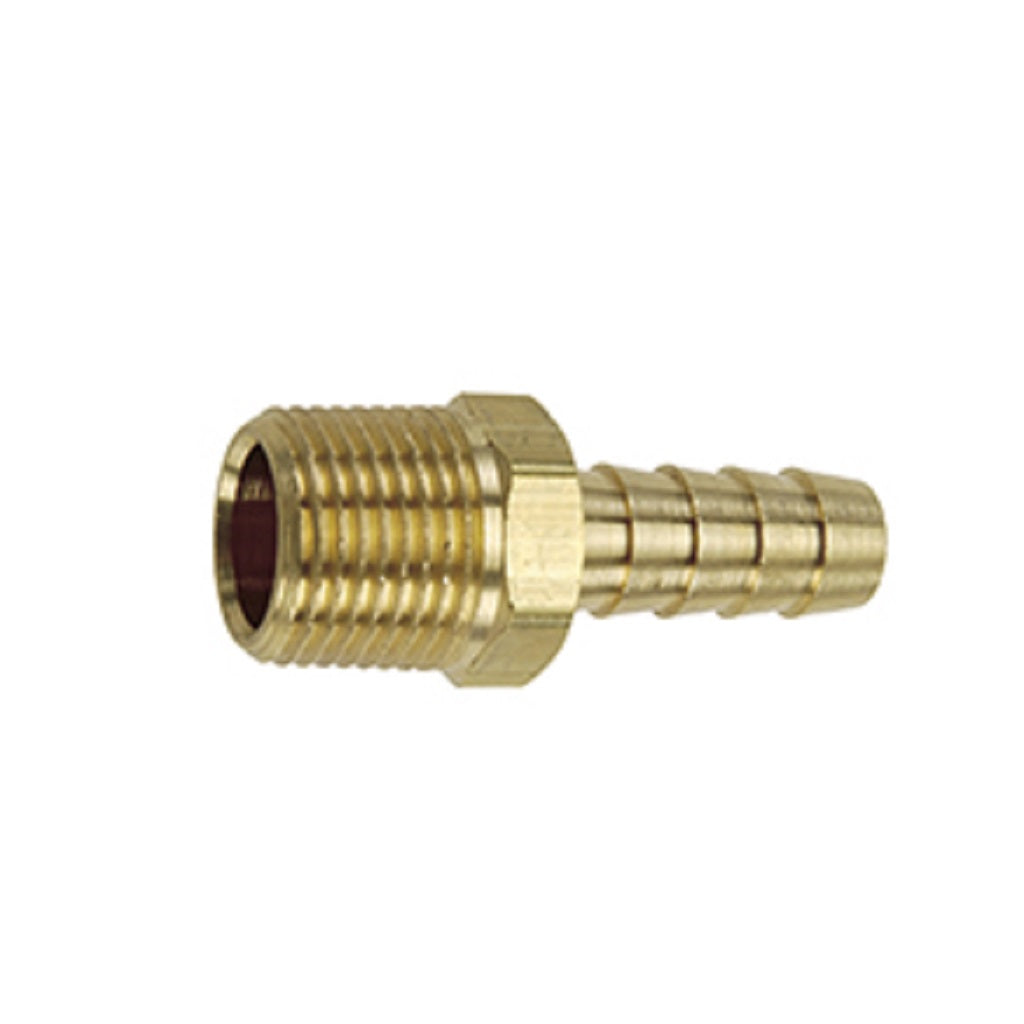 Brass Hose Barb with Male NPT Pipe Thread
