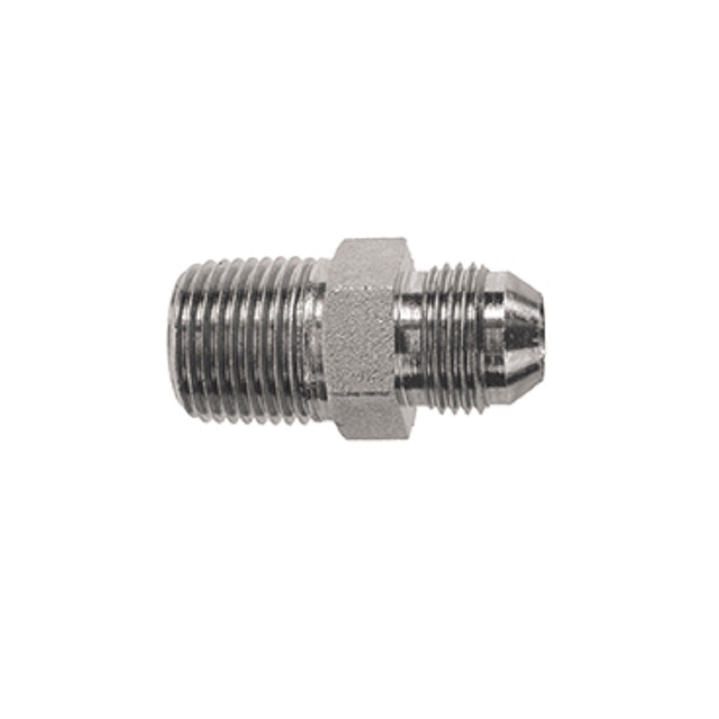JIC Male 1/2 x 3/8 Male NPT Steel Adapter - 9.802-036.0
