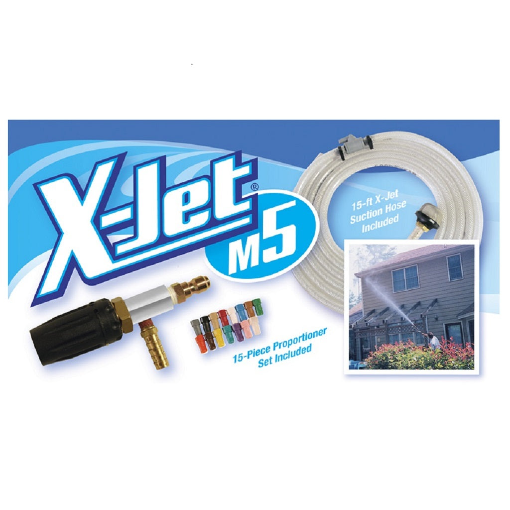 X-Jet M5 Deluxe Chemical Spraying Nozzle System