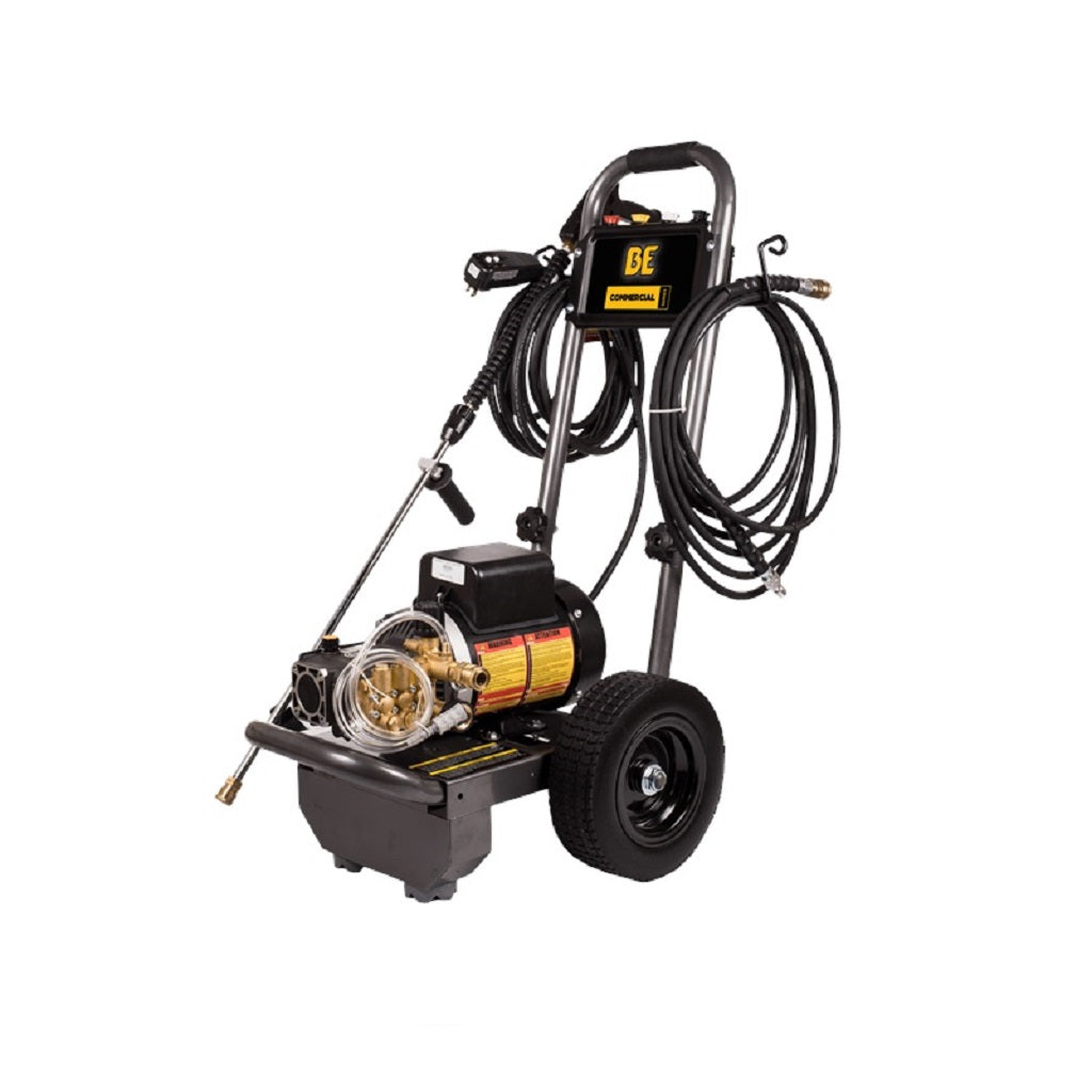 110Volt 1500psi 2.0gpm BE Commercial Electric Pressure Washer PE-1520EW1A
