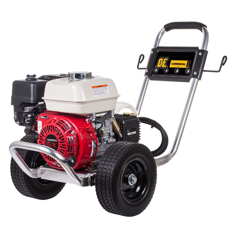 2500psi 2.9gpm Compact Industrial Direct Drive Pressure Washer Honda GX200 Aluminum Frame