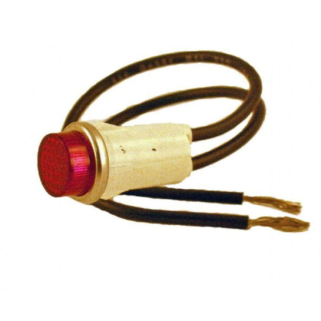 Indicator Light - 12V Red - 8.716-097.0