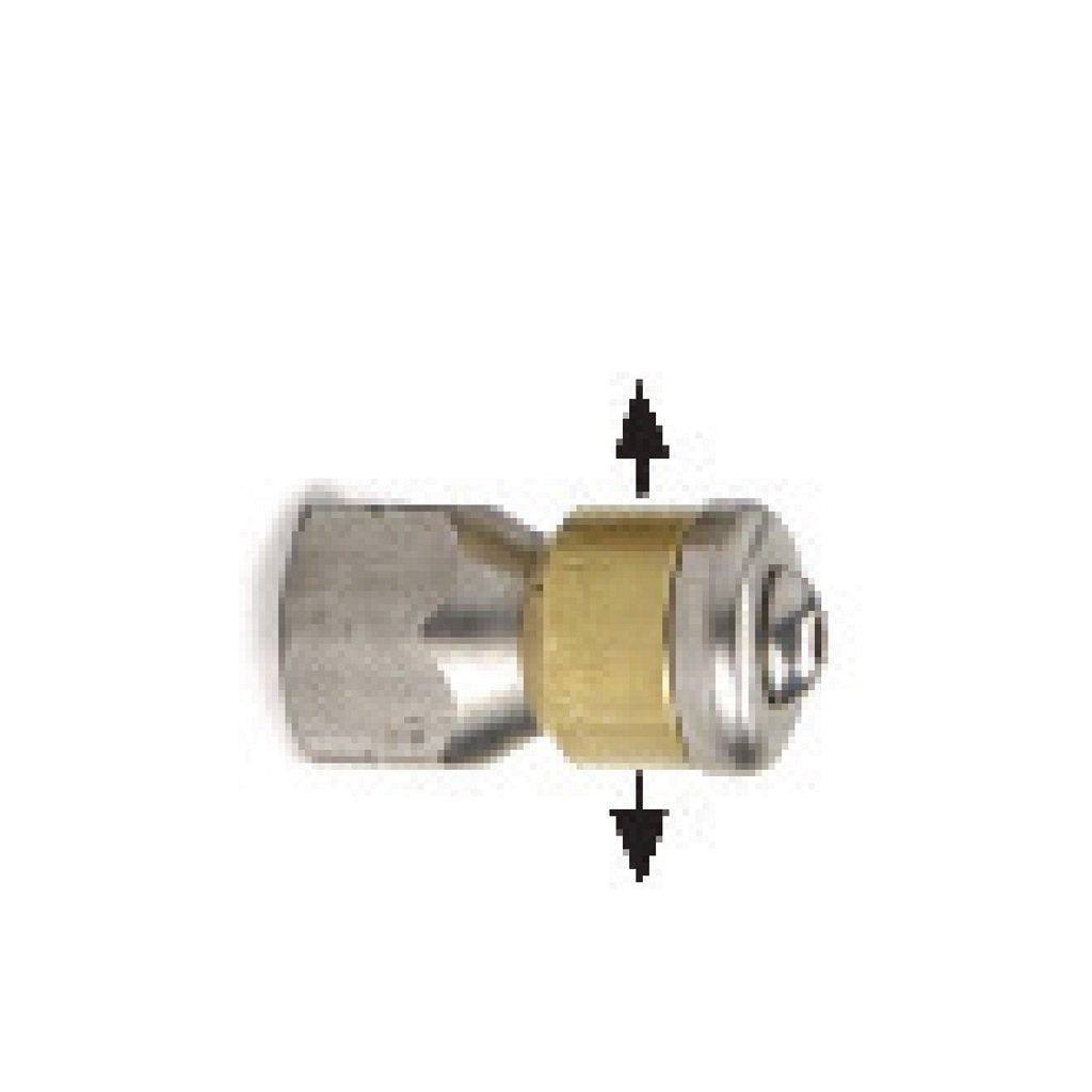 "1/4"" Rotary Sewer / Drain Nozzle (2 Side Jets Only) for Duct Cleaning - #05.5"