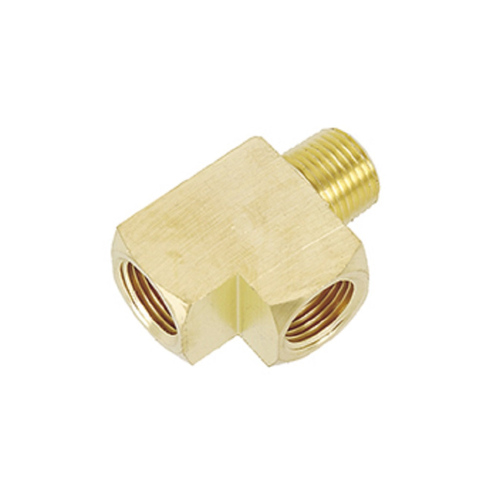 "Street Tee M x F x F NPT Pipe Thread 3/4"" Brass"