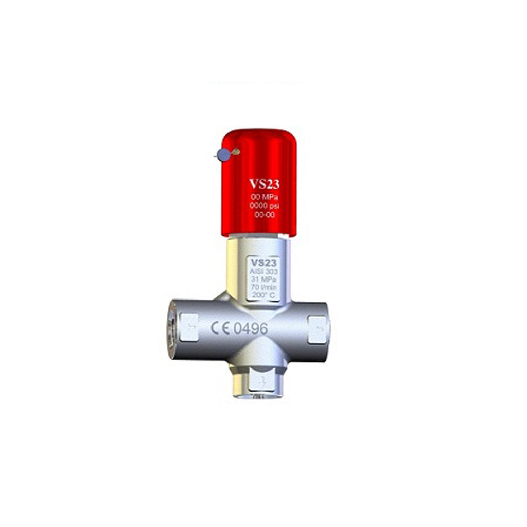 PA VS23 303 Stainless Preset Safety Relief Valve up to 4060psi