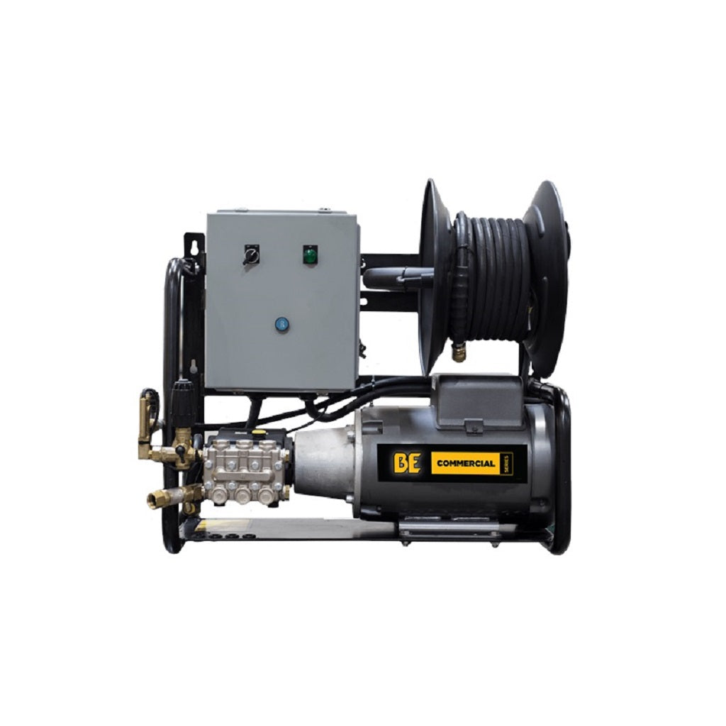 220Volt 2000psi 4.0gpm BE Hot Water Capable Industrial Three Phase Electric Pressure Washer X-2050FW3GENHT2