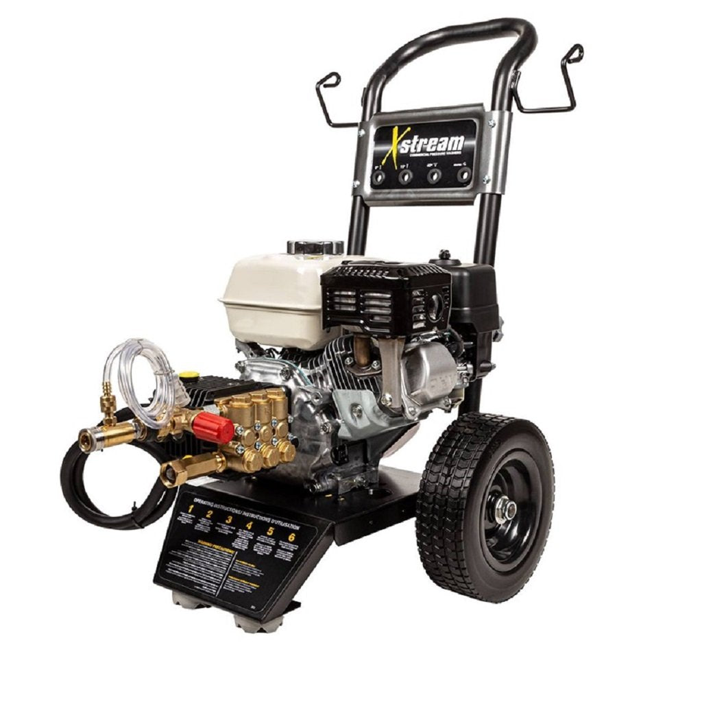 BE XStream X-2565HWGENSP 2500psi 3.0gpm Honda with General Pump and Steel Frame
