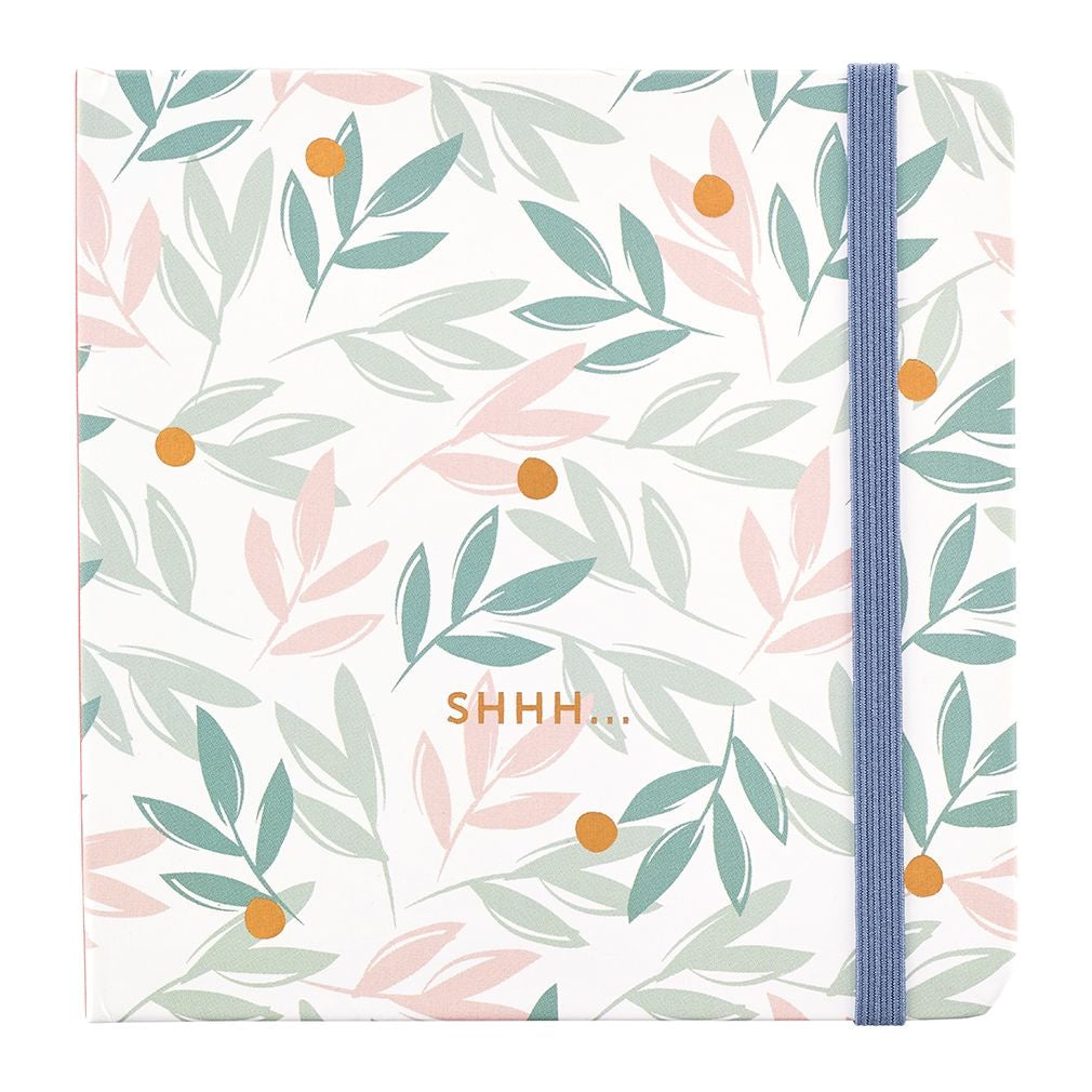 Busy B Floral Password Book
