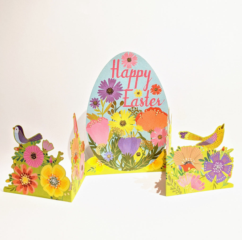 Easter Garden Concertina Card